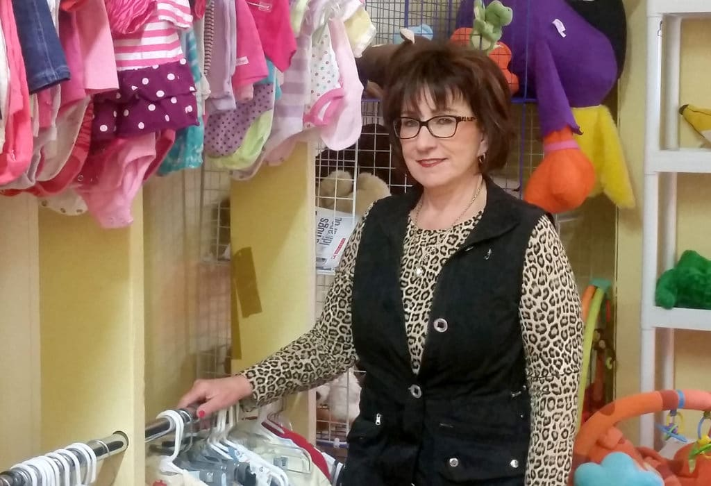 Kim and kids clothes - Thrift Harbor - APR16