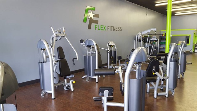 flex fitness gym 1