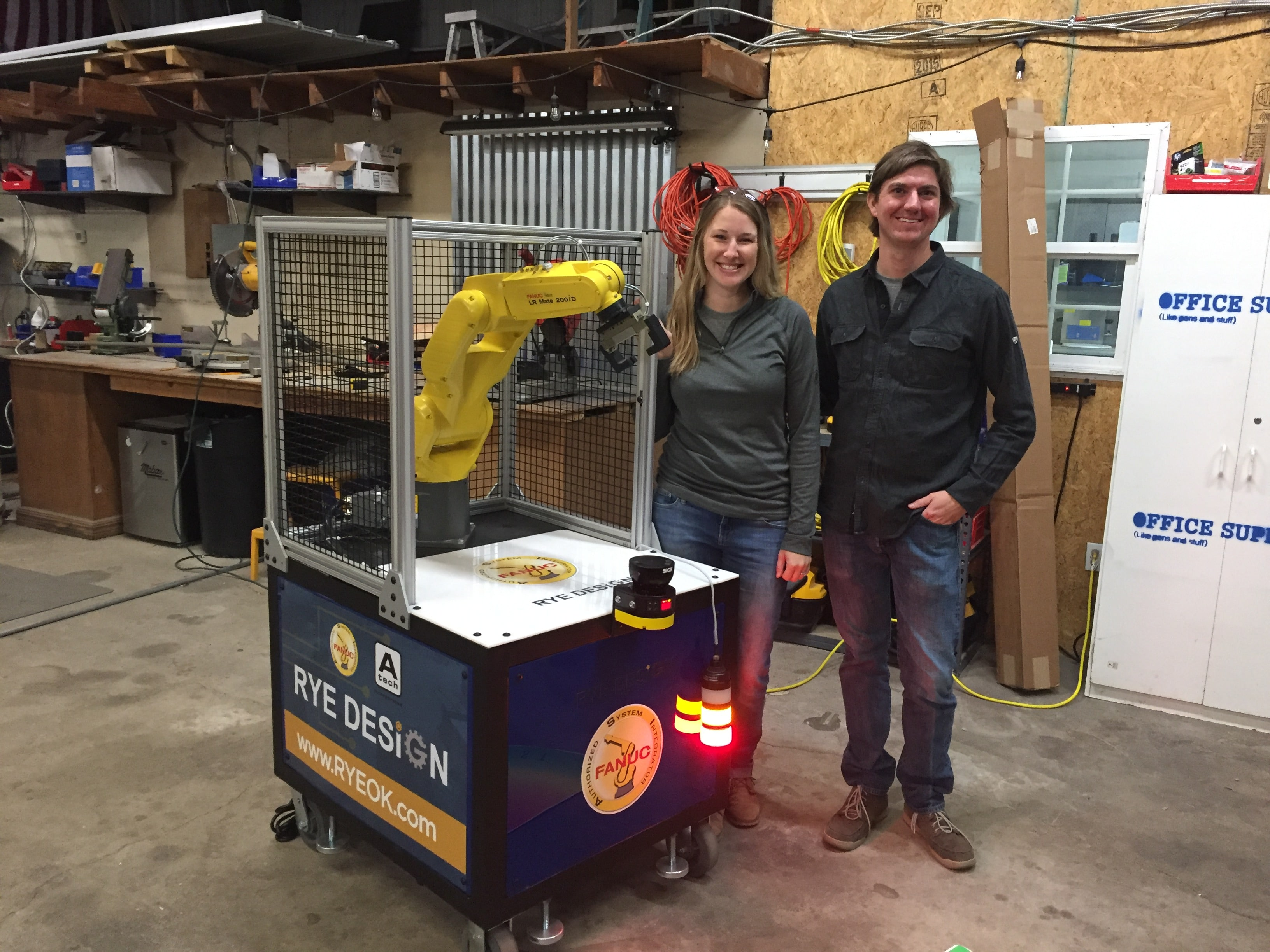 Rye Design in Claremore: One Robot at a Time – More Claremore